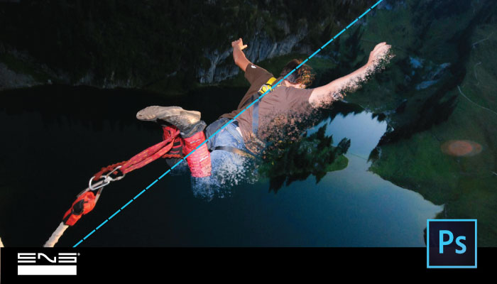 Bungee Jumping com efeito no Adobe Photoshop CC