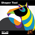 Shaper Tool no Adobe Illustrator CC