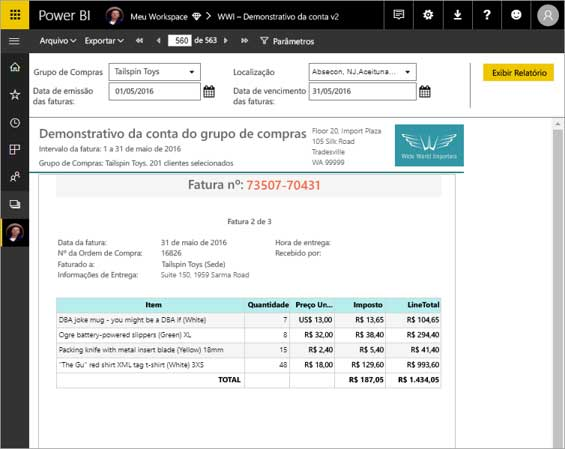 Power BI - Report Buider Web - ENG DTP & Multimídia