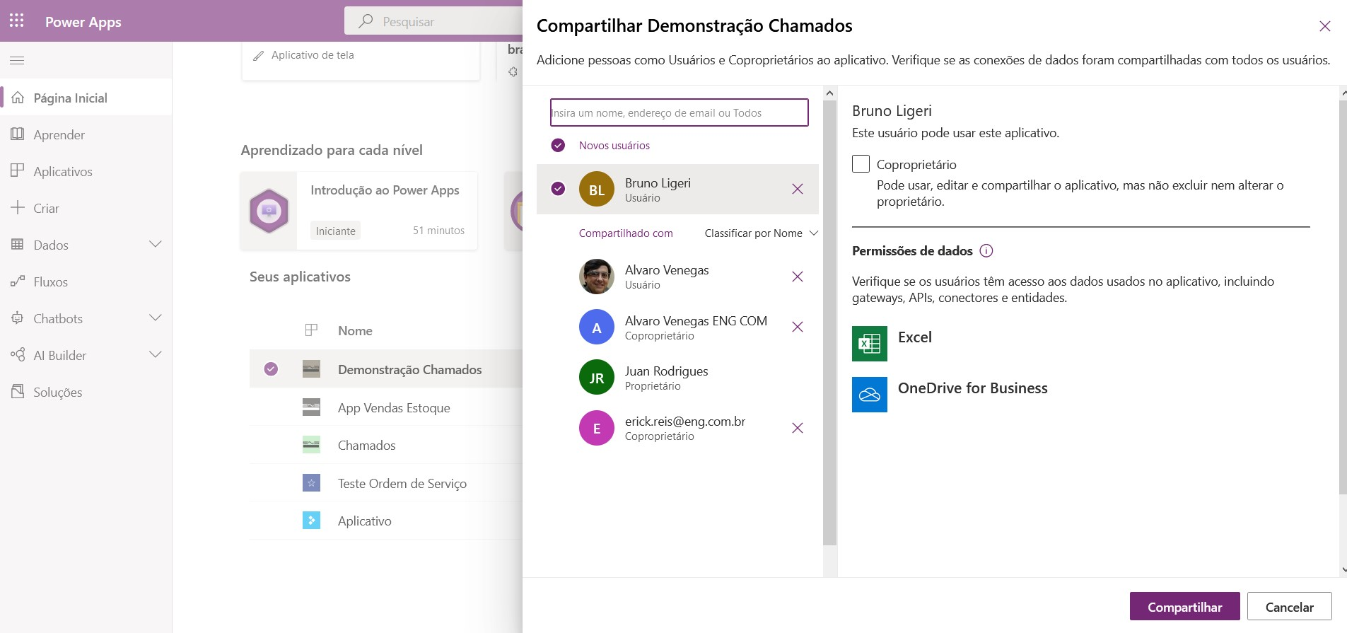 retirar-do-compartilhamento-power-apps-eng-dtp-multimidia