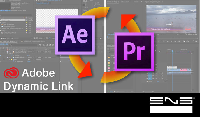 As vantagens de usar o Adobe Dynamic Link.