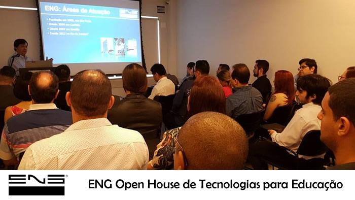 ENG OPEN HOUSE– apresentou Caminhos para Transformação Digital na Educação