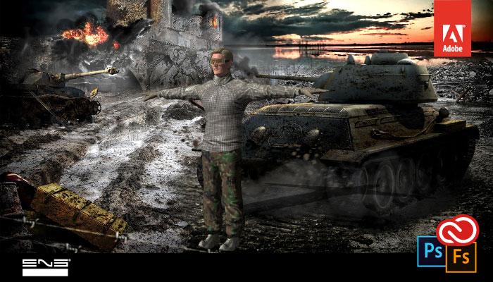 Personagens 3D usando o Adobe Fuse CC e o Photoshop