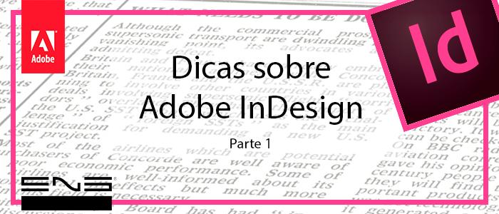 Dicas sobre Adobe InDesign