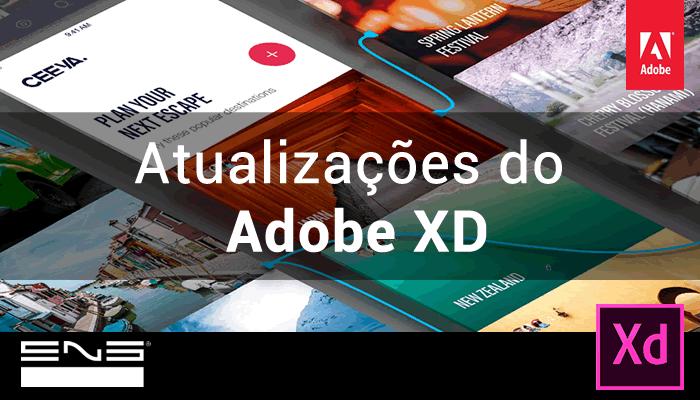 Atualizações do Adobe XD, Abril de 2018