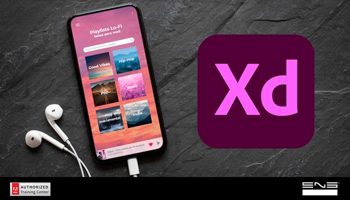 Adicionando várias imagens e textos no Adobe Xd