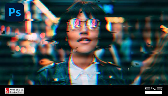 Adobe Photoshop: efeitos aberração cromática e glitch