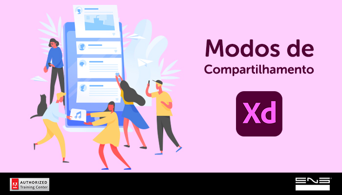 Adobe Xd: Modos de Compartilhamento