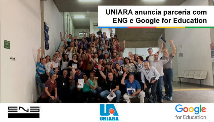 UNIARA anuncia parceria com Google for Education