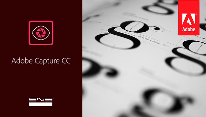 Adobe Capture: Obtenha fontes do typekit com base em uma imagem