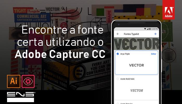 Adobe Capture CC: Encontrando a fonte certa