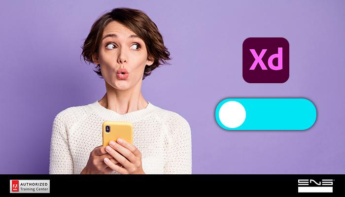 Criação de botões animados no Adobe Xd: Botão de Slide