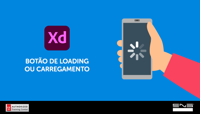 Criação de botões animados no Xd: Ícone de Loading ou Carregamento