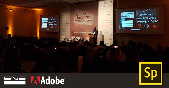 Grande Encontro da Educação: Adobe Spark e ENG