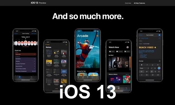 iOS 13 - Potencialidades e Oportunidades
