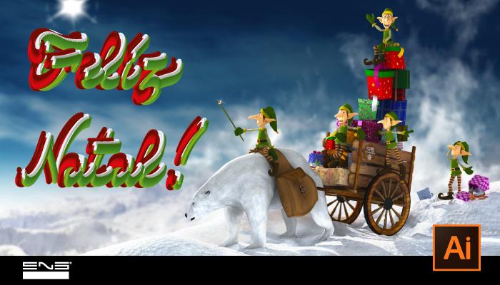 Natal com Efeito Artístico