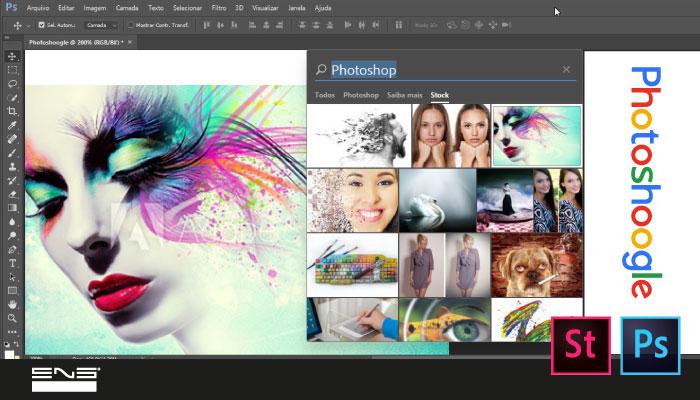Photoshoogle: pesquisas eficientes de imagens no Photoshop