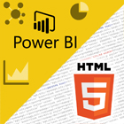 Business Intelligence com Power BI e elementos HTML5