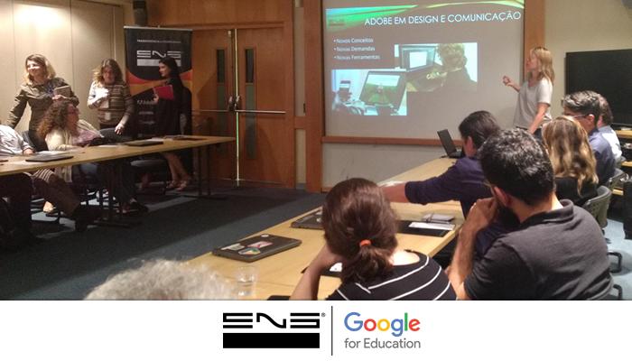ENG em Evento no Senac RJ apresentando Google for Education